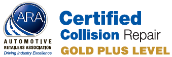 Certified Collision Repair Gold Plus Logo